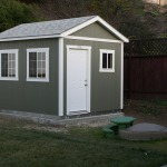 Tuff Shed installed
