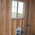 Tuff Shed interior